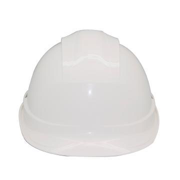 安铠迅 安全帽,GY-A4-白(同一系列30顶起订),一字型ABS安全帽 白色