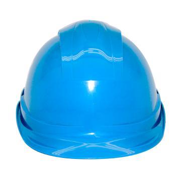 安铠迅 安全帽,GY-A4-蓝(同一系列30顶起订),一字型ABS安全帽 蓝色