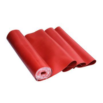 金能 绝缘橡胶板,红色平面6mm,耐压15KV 尺寸1m×0.6m 单位:块