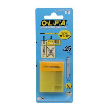OLFA 雕刻刀刀片,25片装,KB