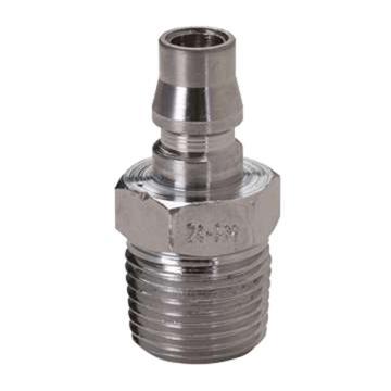 "JPE 外螺纹插头,外牙NPT1/4"",碳钢,AFE-22PM-N"