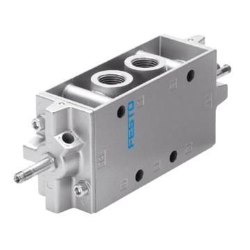 费斯托FESTO 电磁阀,2位5通双电控,不含线圈,JMFH-5-1/2,10166