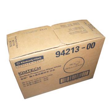 金佰利强力高效擦拭布,白色(折叠式)94213,35.0cm x 25.0cm 300张/箱 单位:箱