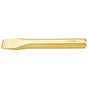 桥防 防爆八角扁铲,铍青铜,16*160mm,233-1004BE