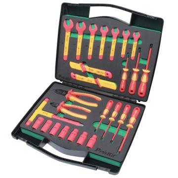 宝工Pro'sKit 绝缘工具套装多功能绝缘工具组套,PK-2809M