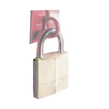 玛斯特锁MasterLock 8mm锁钩,28mm锁钩净高,45mm宽铜挂锁,576MCND(停产,售完即止)