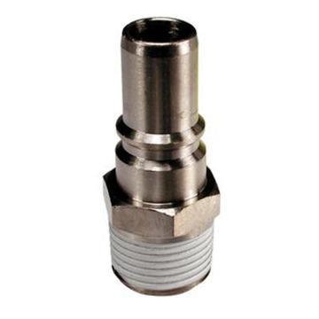 SMC 带单向阀外牙插头,R3/8,KK4P-03MS,按5的倍数售卖