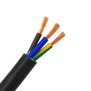 沪工电焊机YZ焊把线3*0.75mm²,国家3C认证产品,适用于沪工各种电焊机通电用途