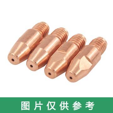 导电嘴/铜电极,φ1.0,M6×28,欧式,紫铜