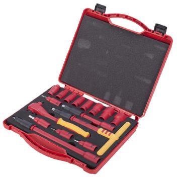 世达VDE套筒组套,10mm系列16件套,09268