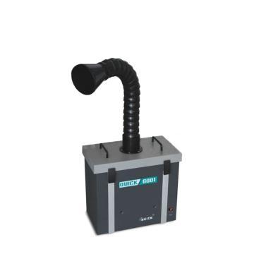 快克 烟雾净化过滤系统,单工位,QUICK6601,1.5米吸烟管,烟雾净化器 焊烟净化器 排烟仪除烟机