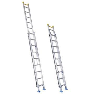 宝富 铝合金单面伸缩梯,全长:6.03m 缩长:3.81m 自重:18.4kg,RLAE-60