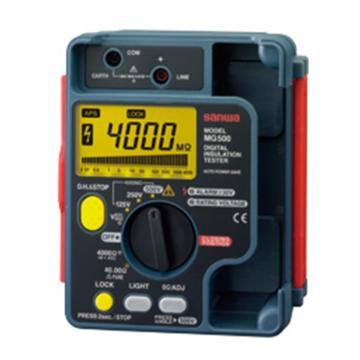 三和/SANWA 兆欧表,数字式绝缘电阻测试仪,MG500