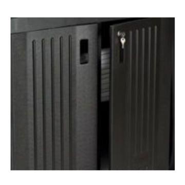 乐柏美Rubbermaid可锁式门组件,FG619700BLA,适用于:618900/619000/619100/619200/9T1900