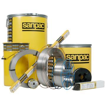 瑞典山特维克E24.13.L(E309L-17)不锈钢焊条 直径4.0mm,5.5公斤/包
