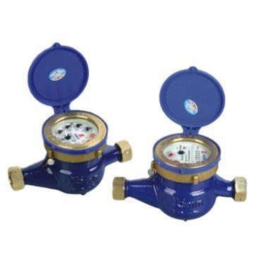 埃美柯/AMICO 铜壳旋翼湿式冷水表,LXS-15E,丝口连接,销售代号:095-DN15