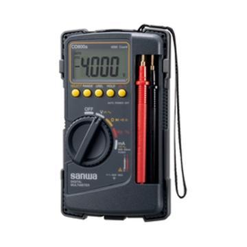 三和/SANWA 数字万用表,一体型,CD800a