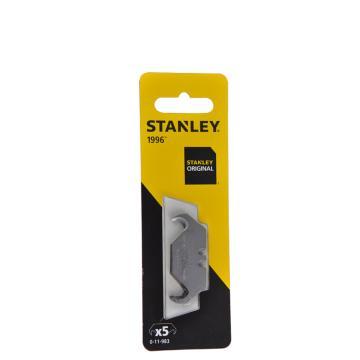史丹利钩形刀片,5片,11-983-0-11C