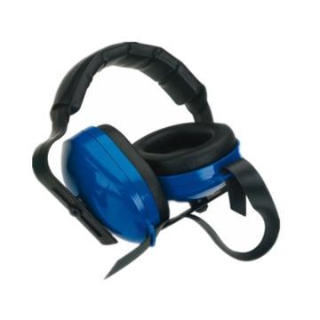 洁适比JSP 头戴式耳罩,03-1023,比式耳罩 蓝色