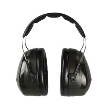 3M 头戴式耳罩,H7A,PELTOR OPTIME 101系列 黑色(新老包装随机发货)