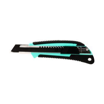 田岛美工刀,双色手柄 中型18mm x 100mm 自动锁定, LC560B