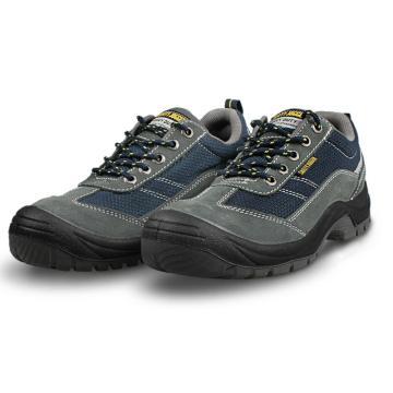 Safety Jogger 运动安全鞋,GOBI s1p-37,防砸防刺穿防静电透气安全鞋 海蓝色