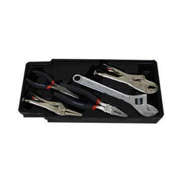 组合工具,活动扳手大力钳组合 5件套,S025029
