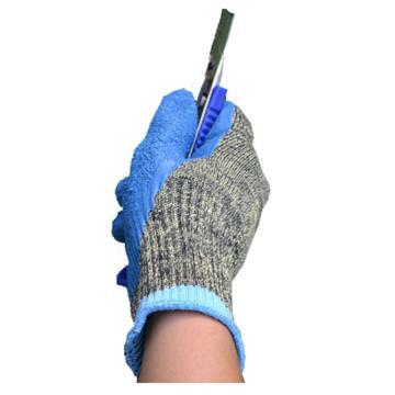 海太尔 5级防割手套,0081,迷彩乳胶防割手套 乳胶涂层
