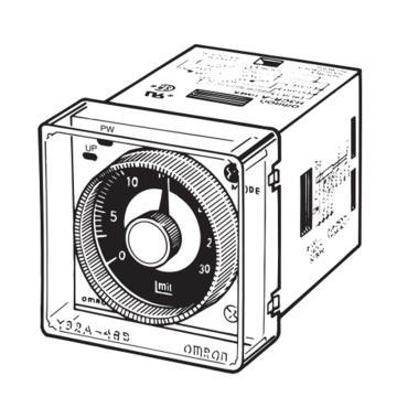 欧姆龙OMRON 传感器附件,Y92A-48B(H.FRONTCOVER FOR H3BA