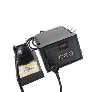 快克 ESD数显控温电焊台,60w,QUICK967 ESD