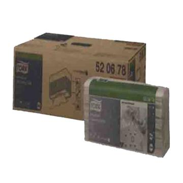 多康(TORK) 特级工业清洁布折叠式,520678,灰色 428*355mm120张/包 5包/箱 单位:箱