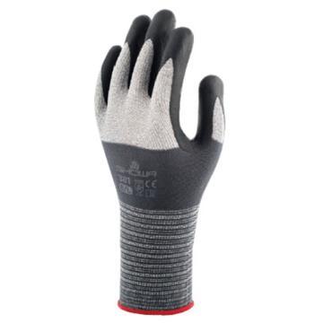 尚和倍斯特SHOWA BEST S级压纹微发泡丁腈涂层手套,381-7