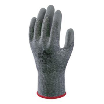 尚和倍斯特SHOWA BEST PU涂层HPPE防割手套,3级防割,541-7