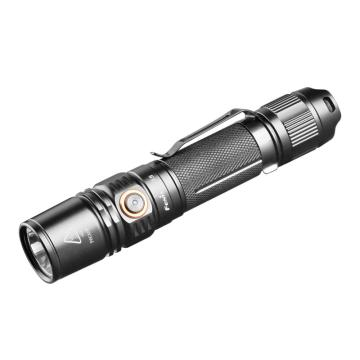 Fenix 防水便携高亮LED手电筒,PD35 V2.0黑色1000lm含抱夹(不含电池和充电器),单位:个