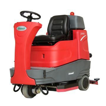 克力威驾驶式洗地机,XD80 24V 200AH