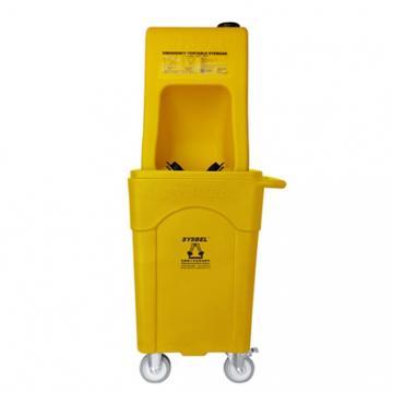 西斯贝尔SYSBEL 便携式洗眼器A型(塑料推车版),60Gal/16L,WG6000AD