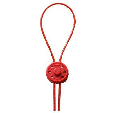 都克 迷你型钢缆锁具,缆绳长1.8m