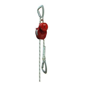 阿萨特ASAT 缓降器,AEM-010(含金属密封箱),高空速降逃生装置 绳长60-100米