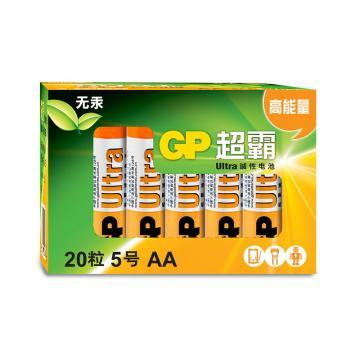 超霸 碱性电池,15AU-2IB20,5号20节装 AALR6 20粒盒装 单位:盒