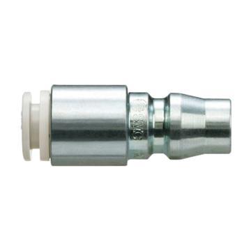 SMC 对接式带快换接头快插插头,带单向阀,KK130P-10H