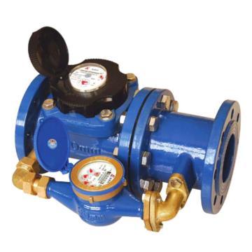 埃美柯/AMICO 铁壳水平复式水表,LXF-100E,法兰连接,销售代号:024-DN100