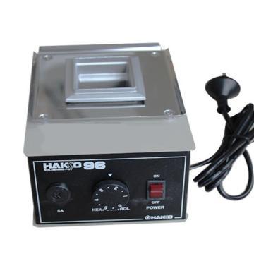 白光HAKKO 熔锡炉,200W,96,锡炉 可调温焊锡炉 锡锅 焊锡锅 温控锡炉