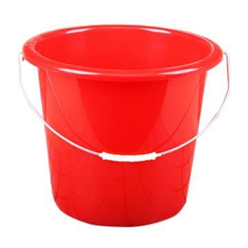 塑料水桶,13.5L 红色