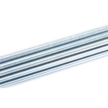 8.8级DIN975牙条丝杆,M8-1.25X1000,蓝白锌,10支/捆