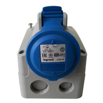 罗格朗Legrand 明装插座,IP44 230V 16A 2P+E,555154