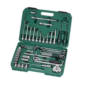 世达汽修工具套装,50件套,09508,升级后为49件套