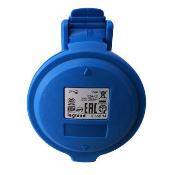 罗格朗Legrand 移动插座,IP44 230V 32A 2P+E,555214