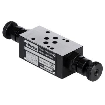 派克Parker 叠加式单向节流阀 FM系列,FM2DDDSV