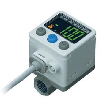 SMC 高精度数字式压力开关,ISE40A-W1-R-M