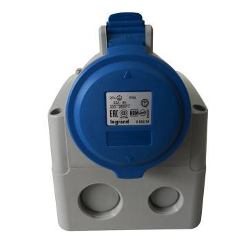 罗格朗Legrand 明装插座,IP44 230V 32A 2P+E,555254